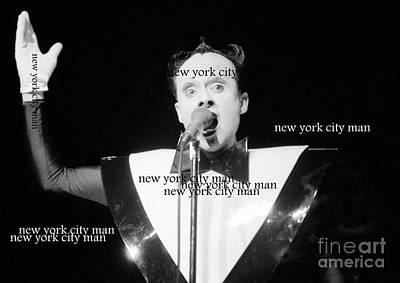 New York City Man Art Print