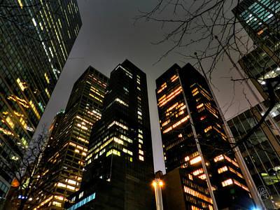 Photograph - New York City - Manhattan 001 by Lance Vaughn