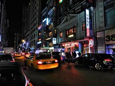 Photograph - New York City - Manhattan - Koreatown 001 by Lance Vaughn
