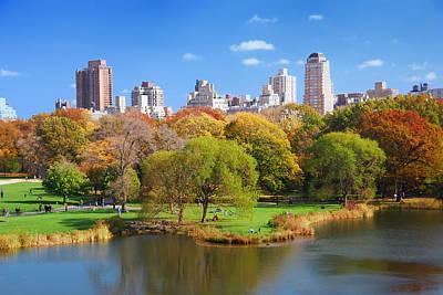 Photograph - New York City Manhattan by Songquan Deng