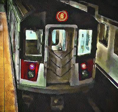 New York City Metro Art Print by Yury Malkov