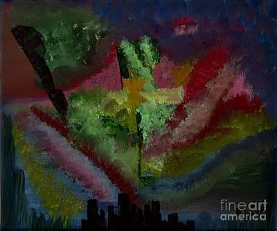 Abstract Painting - New York City Energy by Eamonn Hogan