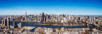 Photograph - New York City Panorama by Alex Llobet