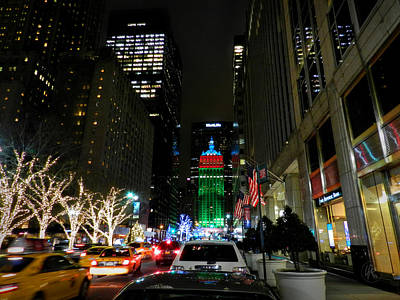 Photograph - New York City - Park Ave. 001 by Lance Vaughn