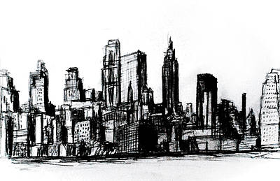 Impressionist Landscapes - New York CIty by Paul Sutcliffe