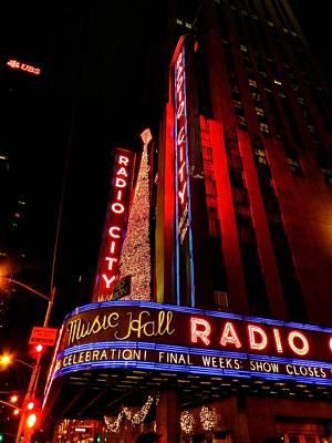Photograph - New York City - Radio City Music Hall 001 by Lance Vaughn