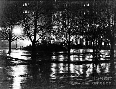 New York City Reflections 1897 Art Print by Padre Art