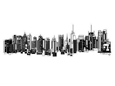 Painting - New York City by Sheep McTavish