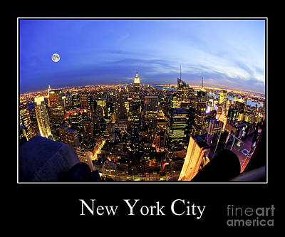 Photograph - New York City Skyline by Anthony Sacco