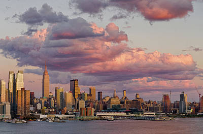 Photograph - New York City Skyline At Twilight by Philip Taylor