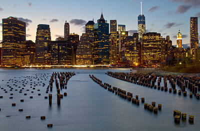 Brooklyn Height Photograph - New York City Skyline From Brooklyn by Jetson Nguyen