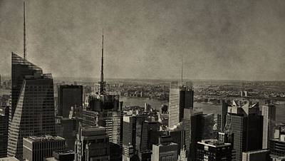 Photograph - New York City Skyline From The Rock by Dan Sproul