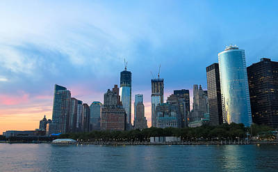 Skylines Royalty-Free and Rights-Managed Images - New York City Skyline by Heidi Hermes