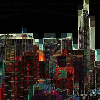 Photograph - New York City Skyline No. 1 by Miriam Danar
