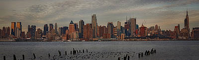 Photograph - New York City Skyline Panoramic by Susan Candelario