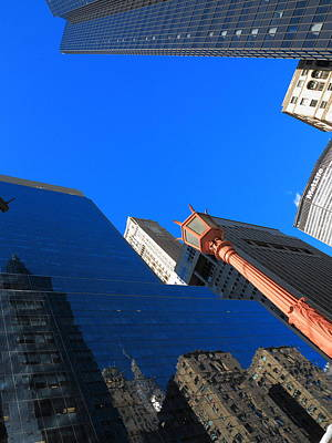Photograph - New York City Skyscrapers 12 by Frank Romeo