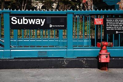 Photograph - New York City Subway by Frank Romeo