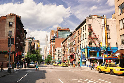 Nyc Taxi Photograph - New York City - Summer Afternoon by Vivienne Gucwa