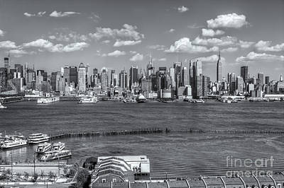 Photograph - New York City Summer Skyline II by Clarence Holmes