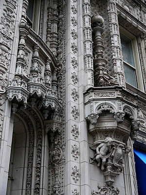 Photograph - New York City - The Alwyn Court by Richard Reeve