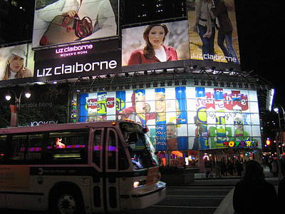 New York City - Times Square - 12122 Art Print by DC Photographer