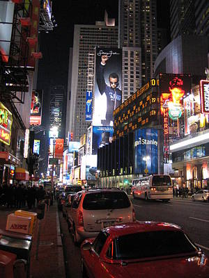 New York City - Times Square - 121224 Art Print by DC Photographer