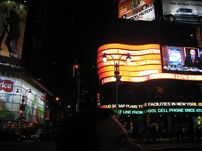 New York City - Times Square - 12127 Print by DC Photographer
