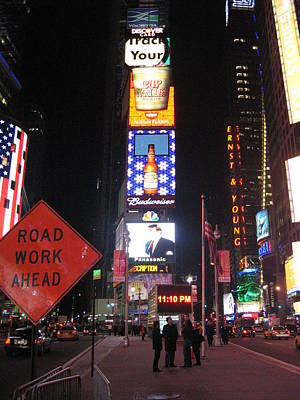 York Photograph - New York City - Times Square - 12129 by DC Photographer