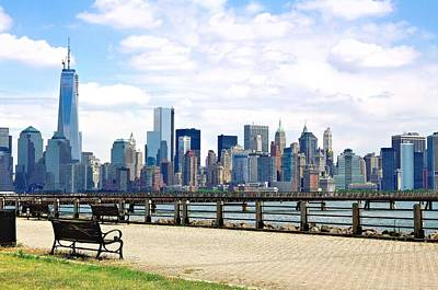 New York City Photograph - New York City Tranquility by Larry Jost