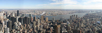 New York City - View From Empire State Building - 12121 Art Print by DC Photographer