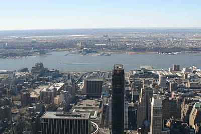 New York City - View From Empire State Building - 12122 Print by DC Photographer