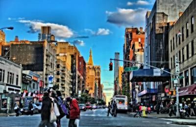 Crosswalk Photograph - New York City Walk by Dan Sproul