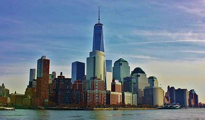 Photograph - New York City Waterfront by Bruce Bley