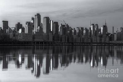 Photograph - New York City West Side Dawn II by Clarence Holmes