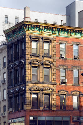 East Village Photograph - New York City - Windows - Old Charm by Gary Heller
