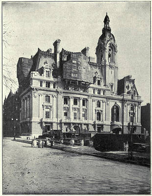 Photograph - New York Clark House by Granger
