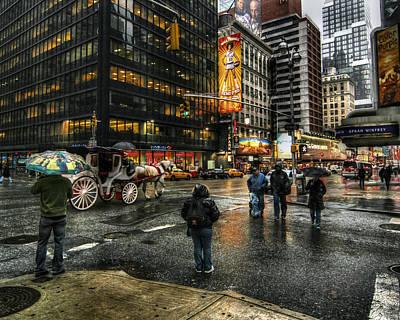 Nyc Digital Art - New York Dreams by Linda Unger
