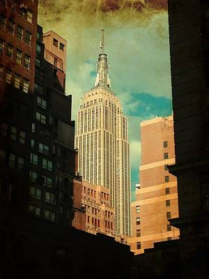 Photograph - New York - Empire State Building by Richard Reeve