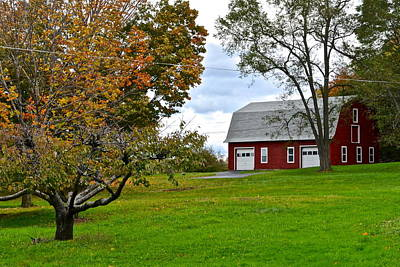 Photograph - New York Farm by Frozen in Time Fine Art Photography