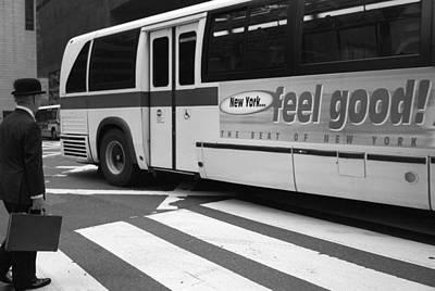 Photograph - New York Feel Good by Dave Beckerman