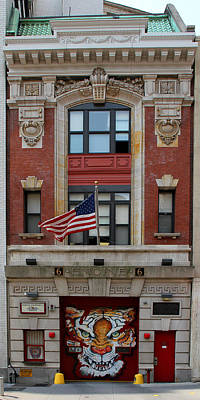 Photograph - New York Fire Hall 1 by Andrew Fare