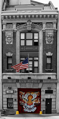Photograph - New York Fire Hall 1b by Andrew Fare