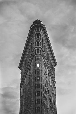 Montreal Icons Photograph - New York Flat Iron Building by Simon Laroche