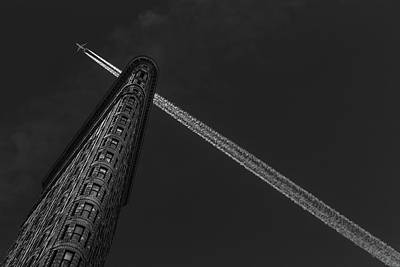 Aviation Photograph - New York - Flatiron Crossing by Michael Jurek