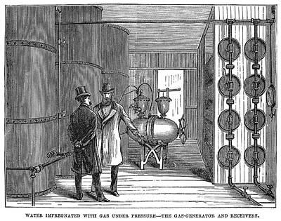 New York Gas Generator Art Print