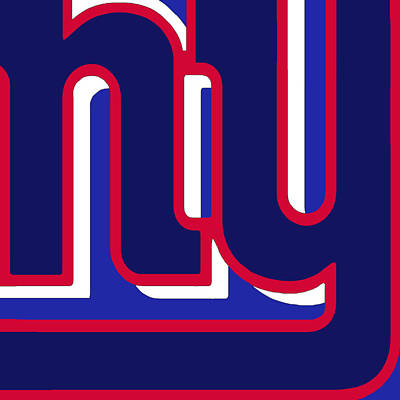 New York Giants Football 3 Original by Tony Rubino