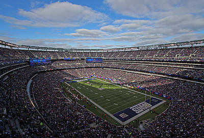 Photograph - New York Giants by Juergen Roth