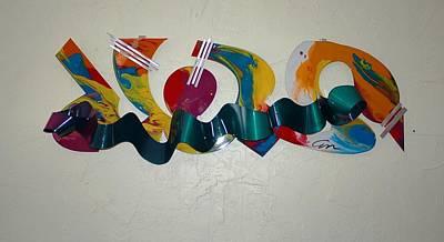 New York Graffiti Art Print by Mac Worthington