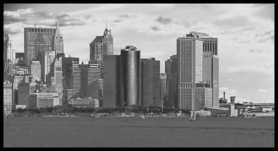 Boating Digital Art - New York Harbor by Dan Sproul