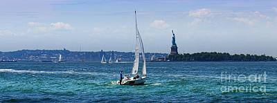 Just Desserts - New York Harbor by Lilliana Mendez